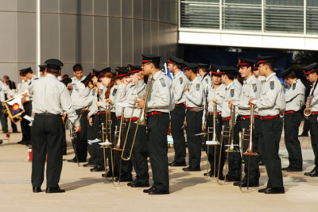 """תזמורת צה""""ל במוסקבה (צילום: דובר צה""""ל)"""