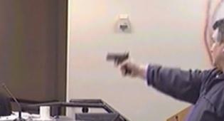 """בלתי נתפס: יריות מטווח קצר בביה""""ס"""