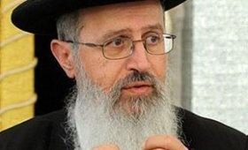 הרב אברהם יוסף (צילום: ברלה שיינר) - הרב יוסף: למנוע מנשים חרדיות לנהוג