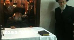"""האדמו""""ר אתמול (צילום: בלעדי לכיכר השבת)"""