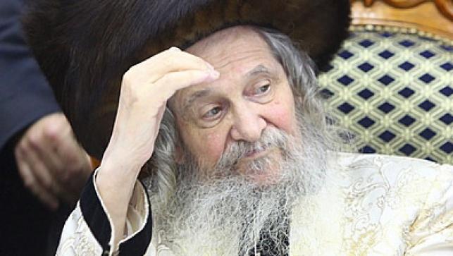 """האדמו""""ר מנדבורנה (צילום: מאיר אלפסי, כיכר)"""