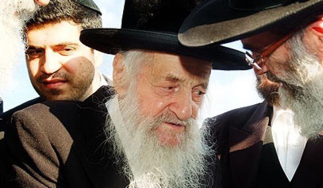 """הגר""""ש וואזנר (צילום: ישראל ברדוגו)"""