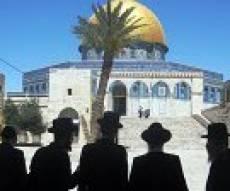 תיעוד נדיר: יהודים מתפללים בהר הבית