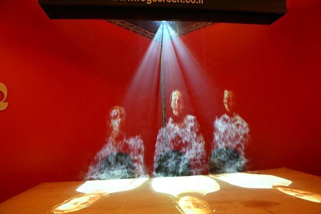 מופע אור קולי (צילום: מאיר אלפסי)
