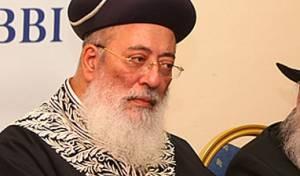 הרב שלמה משה עמאר (צילום: מאיר אלפסי)