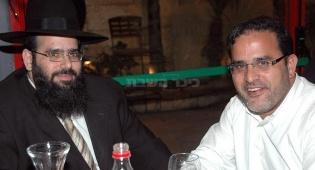 מימין: יצחק קקון ואחיו מיכאל (צילום: כיכר השבת)