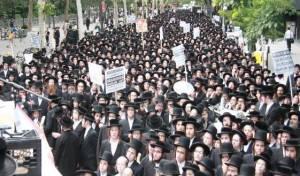 האלפים בהפגנה, בשבוע שעבר
