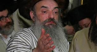 """האדמו""""ר מלעלוב בית-שמש (צילום: יעקב לדרמן)"""