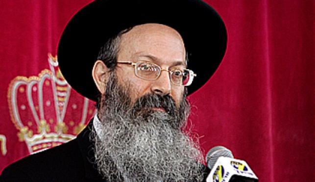 הרב אליעזר מלמד (צילום: פלאש 90)