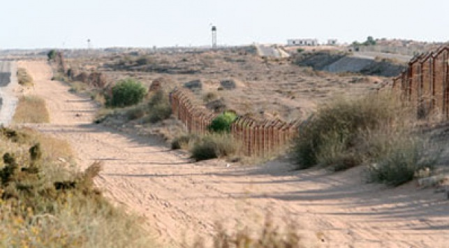 גבול ישראל מצרים