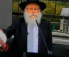הרב רוזנב רג נערך להדלקה (צ´: ערוץ 2)