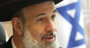 הרב יונה מצגר (צילום: פלאש 90)