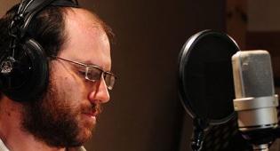 שיר תא הקולי. אהרן רזאל (צילום: ישראל ברדוגו)