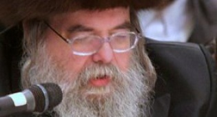 """כ""""ק האדמו""""ר מבעלזא (צילום: מאיר אלפסי)"""