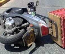 אופנוען חרדי נפצע קשה בתאונת דרכים