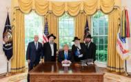 """הנשיא טראמפ במינוי רשמי לשליח החב""""די"""