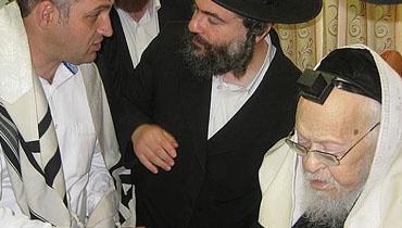 מרן הרב יוסף שלום אלישיב (צילום: ארכיון כיכר השבת)