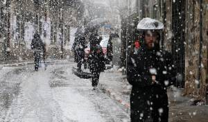 שלג בירושלים