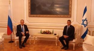 אשכנזי עם שר החוץ הרוסי