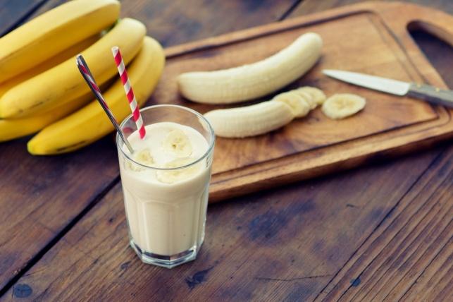 אפשר למקסם את התוצאה ולטחון בבלנדר חלב ובננה