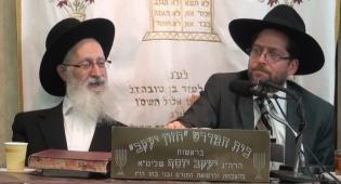 וידאו: שיעורו השבועי של הרב יעקב יוסף