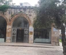 קבר רבן גמליאל ביבנה, היום בבוקר
