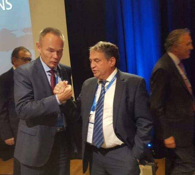 עוזי דיין התמנה לוועד המנהל של ארגון הלוטו האירופאי.