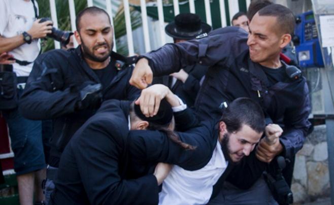 תיעוד: 'העדה החרדית' מבעירה את ירושלים
