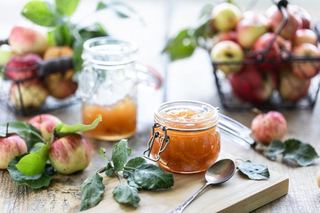 ריבת תפוחים ביתית