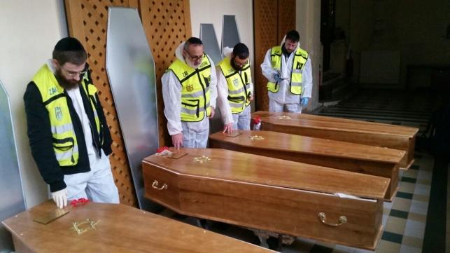 ארונות הנרצחים נחתו בישראל