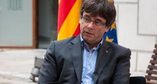 נשיא קטלוניה המודח, קרלס פוג'דימון - ספרד הדיחה את הקטלונים; הנשיא - בבריסל
