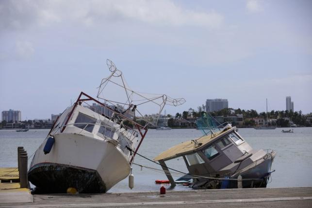 מנזקי הסופה אירמה
