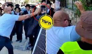 האלימות הקשה בהפגנה
