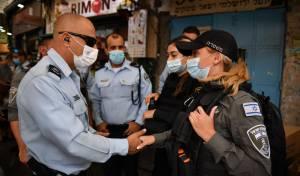 ההיערכות המשטרה - לפני ראש השנה בירושלים