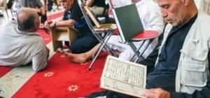 רמדאן במסגדים. אילוסטרציה