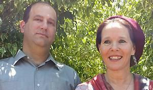 ההורים רחל ואבי פרנקל