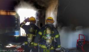 בית חדש לחלוטין נשרף כליל בעקבות תנור