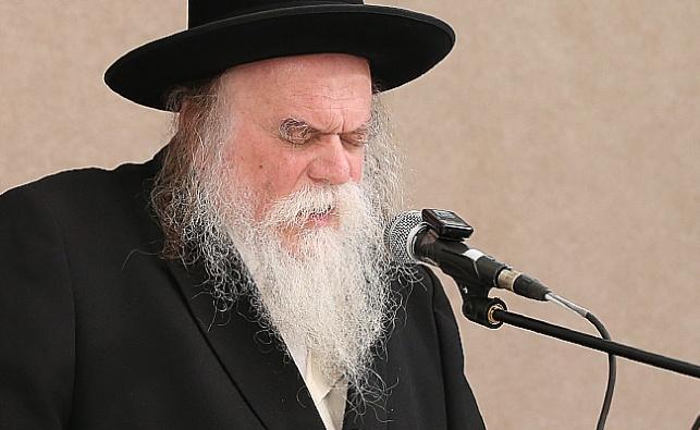 הרב סנדר ארלנגר. ארכיון