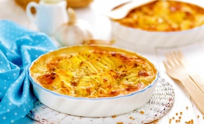 גראטן תפוחי אדמה מושלם - אחד הדברים הכי טעימים: גראטן תפוחי אדמה