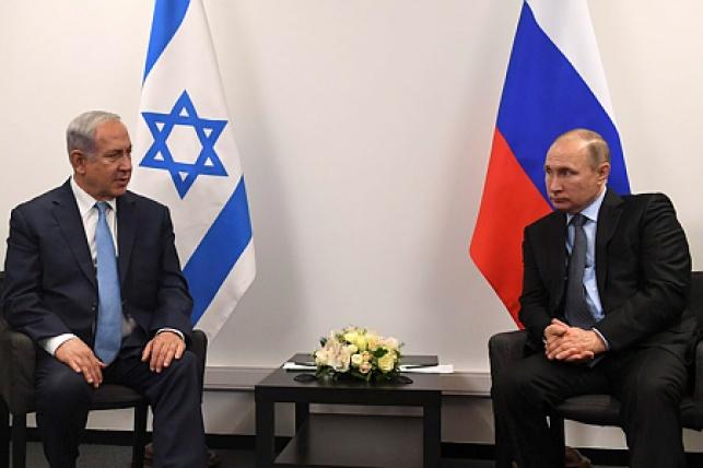 נתניהו ונשיא רוסיה ולדימיר פוטין