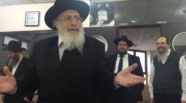 הגאון הרב שמעון אליטוב ביקר בארגנטינה