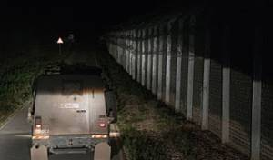 """צה""""ל בגבול סוריה. תמונת ארכיון"""