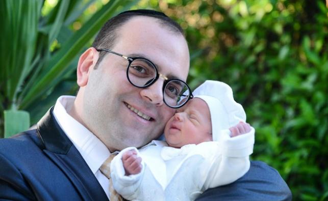 גלריה: הברנז'ה חגגה ברית לבן של אלעד כהן