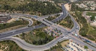 """מחלף הראל - פקקים אדירים צפויים בכביש ירושלים ת""""א"""