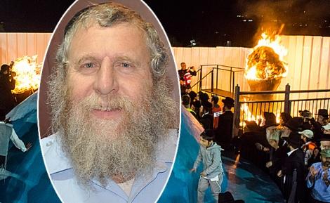 הרב אנשל פרידמן על רקע הדלקה במירון