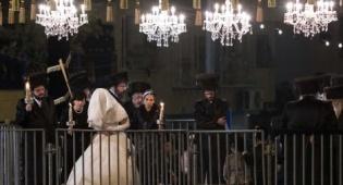 החתונה הגדולה בבעלזא לפני שנתיים