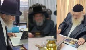 """רבני חב""""ד עם גדולי ישראל"""