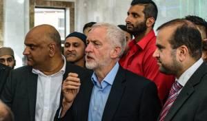 קורבין, במסגד בבריטניה
