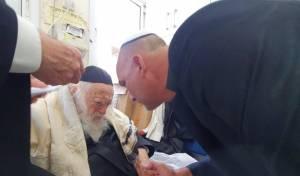 """עוזר מאמן נבחרת ישראל התברך ע""""י הגר""""ח"""