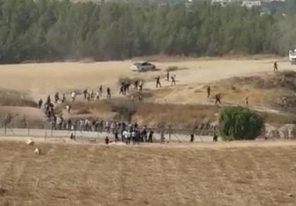 אלפי פלסטינים מסתננים לישראל ללא אישור